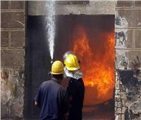 مصرع 4 أشخاص وتفحم مخبز في حريق هائل بالسلام