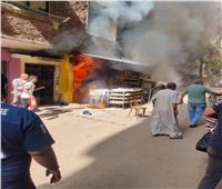 «جحيم على الأرض».. مصرع ٤ عمال في حريق مخبز بدار السلام