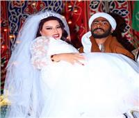 بعد تصدرها التريند| سمية الخشاب: «أول مرة أحس إني عروسة بجد»