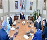 الرئيس يطلع على جهود الحكومة في دعم إطلاق تقرير التنمية البشرية بمصر