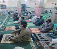 التزام رواد صلاة التراويح بالإجراءات الوقائيةفي مساجد أسوان