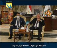 محافظ جنوب سيناء يعقد اجتماعاً أمنياً لبحث عودة السياحة الروسية وعيد الفطر