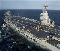 حاملة الطائرات الأمريكية «فورد» تتأهب لمواجهة الصين | فيديو