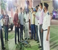 ضبط 22 شيشة وتحرير11 محضرا لعدم ارتداء الكمامة بالزاوية الحمراء
