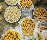 التحفظ على 288 ألف قطعة حلوى مجهولة المصدر في الغربية