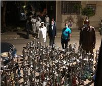 خلال يومين.. غلق 160 مقهى ومصادرة 6000 شيشة بالقاهرة
