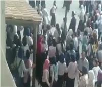 مشاجرة دامية بين طالبتين في مدرسة ثانوي بالقاهرة.. فيديو