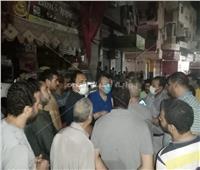 جولة ليلية لنائب محافظ الجيزة بمدينة أبو النمرس