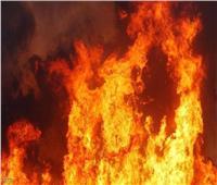 إخماد حريق هائل بفرن سياحي بقرية شما بالمنوفية