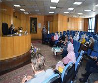 محافظ المنيا يتابع معدلات تنفيذ مشروعات المبادرة الرئاسية حياة كريمة