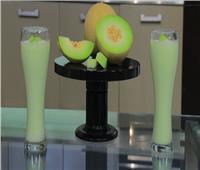 عصائر رمضان| أسهل طريقة لتحضير عصير الكنتالوب باللبن في المنزل