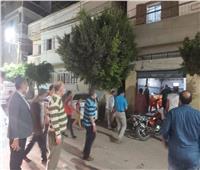 حملات مكثفة لمتابعة تطبيق قرار إغلاق المحلات بدمياط