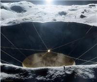 ناسا تبني تلسكوبًا عملاقًا داخل حفرة بالقمر