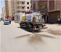تكثيف حملات التطهر والتعقيم بشوارع حي المعصرة