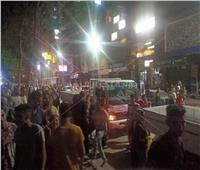 حملات مكثفة على محافظة القاهرة لمتابعة غلق المحال