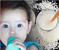 فوائد ماء الأرز للأطفال