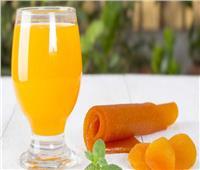 عصائر رمضان  أسهل طريقة لعمل عصير قمرالدين بالبرتقال في المنزل