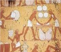 كعك العيد من رسوم مقبرة «تى ورخمى رع»