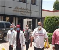 سعد : تفتيش مكثف على مستشفيات العزل للتأكد من توافر المستلزمات الطبية