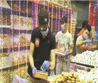 العيد فرحة بإجراءات احترازية   أسعار «الكحك» بين ٣٠ إلى ٣٠٠ جنيه