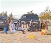 اختيار العروس ورحلات صيد في  احتفال البدو الشرقية بالعيد