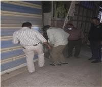 استمرار الحملات لمتابعة تطبيق قرار إغلاق المحلات في دمياط