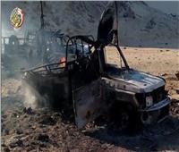 صفحة المتحدث العسكري تعيد نشر فيديو عملية الرد على حادث الواحات عام 2017