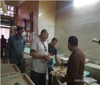 قبل عيد الفطر..محافظ المنوفية: تحرير 119 محضر تمويني