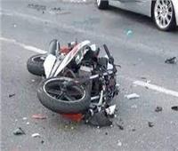 إصابة شخص في انقلاب دراجة بخارية بالإسماعيلية