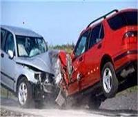 إصابة شخصين في حادث تصادم سياراتين بالإسماعيلية