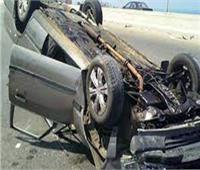 مصرع سيدة في حادث على طريق مصر الإسماعيلية الصحراوي