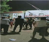 «السكة الحديد»: لا توجد إصابات في حادث خروج قطار عن القضبان بالعياط