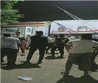 «السكة الحديد»: تشكيل لجنة فنية لبحث أسباب خروج قطار العياط عن القضبان