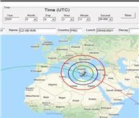 ننشر وقت دخول الصاروخ الصيني إلى الغلاف الجوي