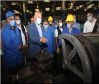 وزير النقل من ورش جبل الزيتون: نخطط لنقل 25 مليون طن بضائع سنويا