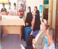 جلسة ودية في إدارة العريش التعليمية لبحث أزمة عبث الطلاب بسيارة معلمة