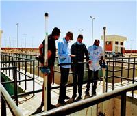 «العاشر من رمضان»:٦٠ ٪ نسبة تنفيذ المرحلة الثانية من محطة تنقية مياه الشرب