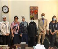 «آداب حلوان» تنظم ندوة لتأهيل الطلاب للمشاركة في مشروع محو الأمية