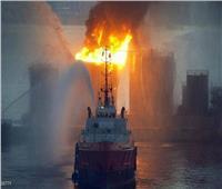 انفجار يهز ناقلة نفط قبالة ميناء بانياس السوري