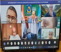 جامعة دمنهور تعقد إجتماعات مكثفة مع «الأعلى للجامعات» لمناقشة خطتها للتحول الرقمي
