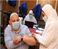 تطعيم عمداء كليات المنوفية بالمستشفيات الجامعية