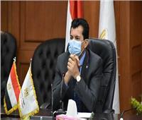 وزير الرياضة يعلن عن مشروع قانون جديد يحل أزمة أراضي مراكز الشباب
