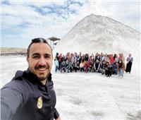 «شباب مصريين» يشرحون تاريخ مصر بمتحف الحضارة ويبرزون جمال سيوة