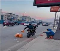 اعترافاتصاحب واقعة فيديو «كيس البرتقال» أمام مباحث التجمع