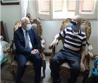 محافظ بورسعيد ينعي البطل الفدائي محمد مهران
