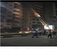 السيطرة على حريق اندلع أعلى فندق شهير بطنطا دون وقوع ضحايا