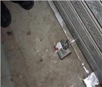 غلق وتشميع ورشة وكوافير في حملة بالحوامدية | صور وفيديو