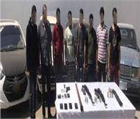 ضبط عصابة سرقة السيارات في الشرقية