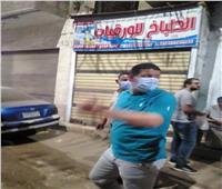 تحرير 24 محضر لمخالفي بالإجراءات الاحترازية بأشمون