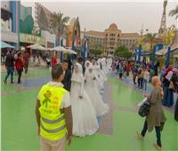 بمناسبة عيد الفطرالمبارك  جمعية الأورمان تدعم زواج 800 عروسة بالمنوفية
